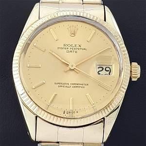 Rolex - Oyster Perpetual Date - Ref: 1550 - Men -