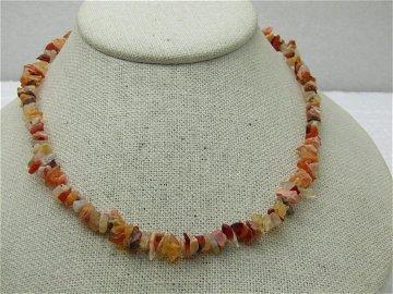 Vintage Southwestern Agate, Coral, Jasper Nugget