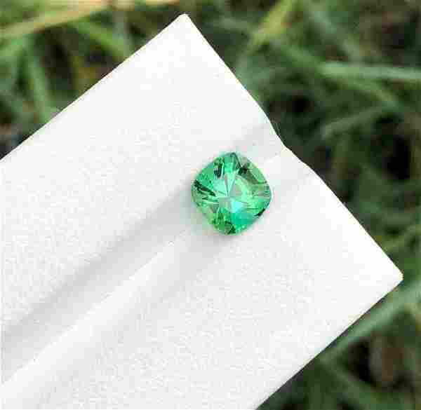 2 Carats Top Gread Tourmaline From Afghanistan ~ 7x7x5