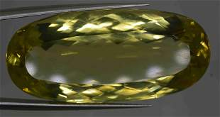 51.20 CARATS BEAUTIFUL YELLOW CITRINE 38X17X11 MM