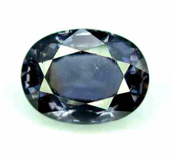Spinel Purplish Grey Color Gemstone from Burma-3.20