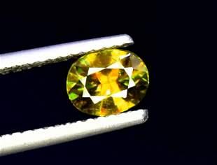 Sphene Titanite, 1.20 CT Natural Full Fire Sphene