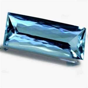 12.86 Cts GIA Certified Natural Aquamarine