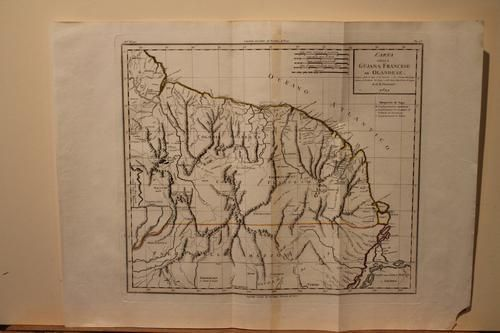 1821 Map of the Guyanas