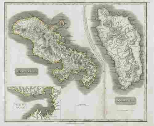 """Dominica & """"Martinico"""" (Martinique). Fort-de-France"""