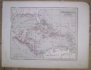 Guatemala Antilles Et Golfe Du Mexique