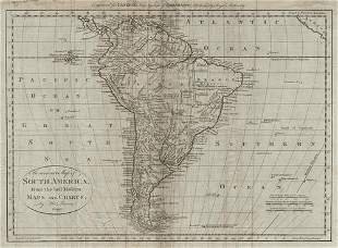 An accurate map of South America, from the best modern