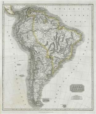 """South America"". New Granada & Peru Viceroyalties."