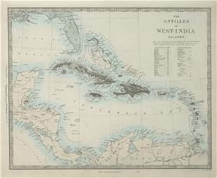 WEST INDIES Antilles Caribbean French British Swedish