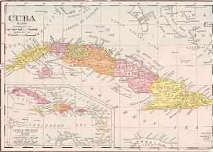 Rand-Mcnally's 11 X 14 Map of Cuba
