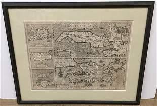 Cuba Insula [On Sheet With] Hispaniola Insula [and]
