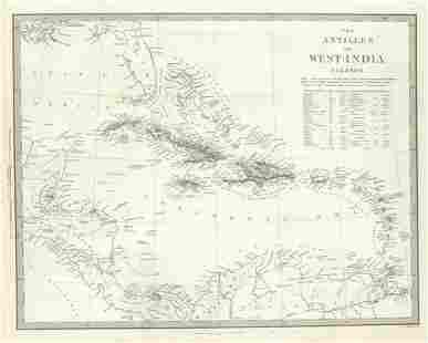 Antilles Or West-India Islands