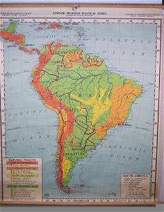 South America - Atwood Regional Political Series