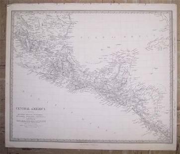 Central America I. Including Yucatan, Belize,