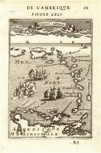 WEST INDIES Caribbean Windward Leeward Islands Barbados