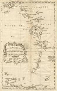 A map of the Caribee Islands. Caribbean Antilles West