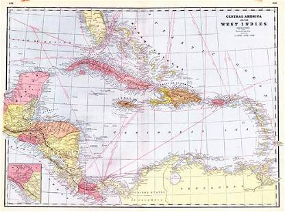 Central America and the West Indies