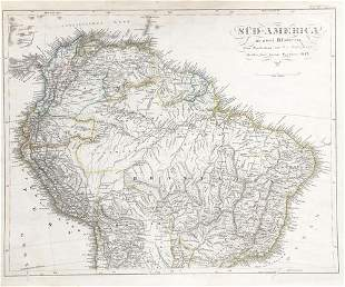 Northern South America, 1843