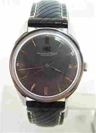 Vintage S/Steel IWC Winding Watch 1970s R 810 Cal. C89*