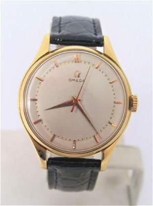 Vintage 18K GP OMEGA Winding Watch 1950s Cal.283 EXLNT