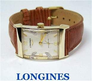 Vintage 14k LONGINES Winding Watch c.1940s Cal. 9LT
