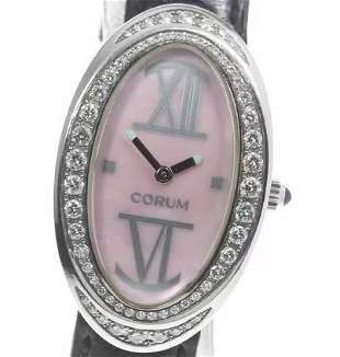 CORUM - Set with diamonds - Quartz - Women