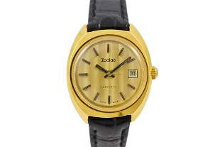 Vintage Zodiac 343.382 Automatic Gold Plated ladies