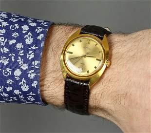 Wostok Vintage Men Wrist Watch/ Russian Antique Golden