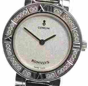 CORUM - Romvlvs - Set with diamonds - Quartz - Women