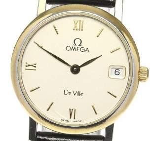 Omega -De Ville - Gilded - Quartz - Women