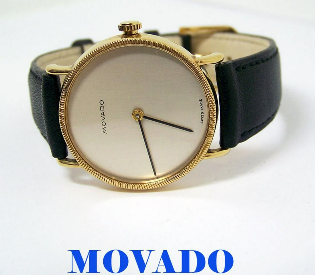 Vintage Goldplated MOVADO by ZENITH Unisex 17J Winding