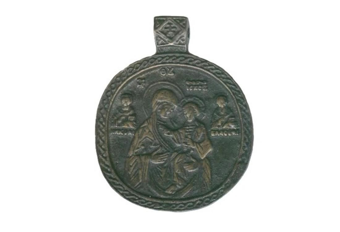 Extremely Rare XVI c. Icon of The Virgin Hodegetria