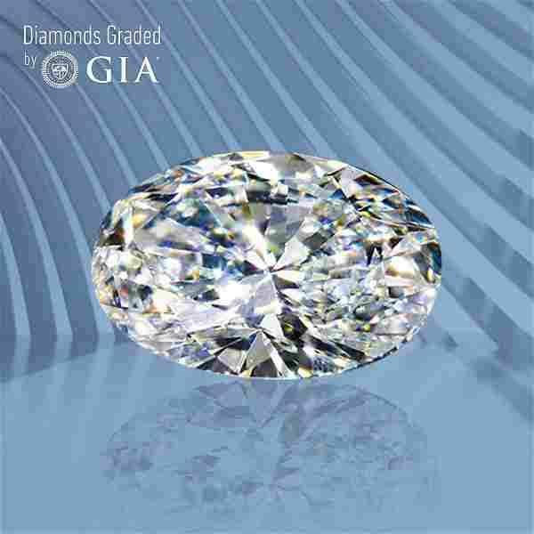 .50 ct, Color D/VS2, Oval cut GIA Graded Diamond