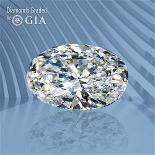 2.01 ct, Color F/VVS2, Oval cut GIA Graded Diamond
