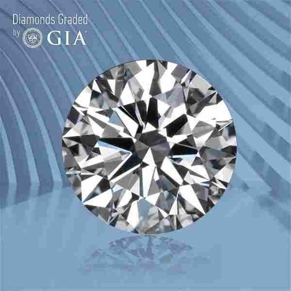 1.00 ct, Color D/VS2, Round cut GIA Graded Diamond