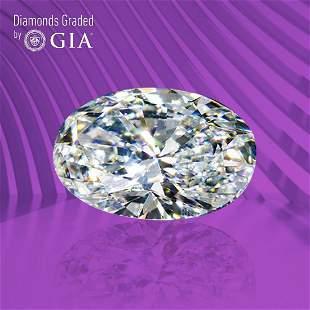 1.01 ct, Color E/VVS2, Oval cut GIA Graded Diamond
