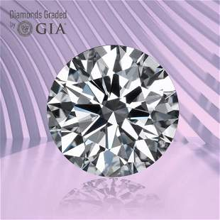 1.05 ct, Color D/VS2, Round cut GIA Graded Diamond