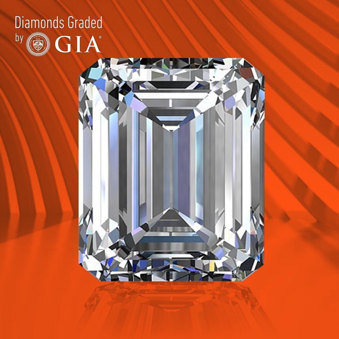 0.50 ct, Color D/VVS2, Emerald cut GIA Graded Diamond