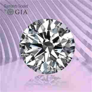 1.00 ct, Color F/VVS1, Round cut GIA Graded Diamond