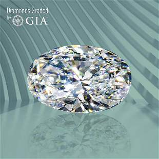 1.01 ct, Color G/VVS1, Oval cut GIA Graded Diamond