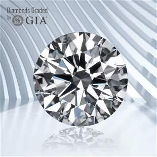 0.50 ct, Color D/VVS2, Round cut GIA Graded Diamond