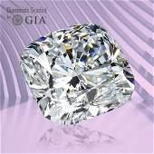 1.30 ct, Color F/VVS2, Cushion cut GIA Graded Diamond