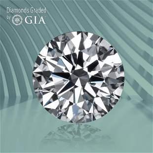 1.00 ct, Color E/VVS2, Round cut GIA Graded Diamond