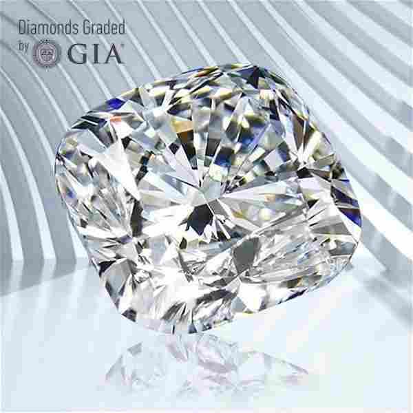 0.50 ct, Color F/VVS2, Cushion cut GIA Graded Diamond