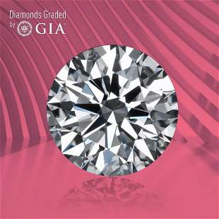 1.26 ct, Color F/IF, Round cut GIA Graded Diamond