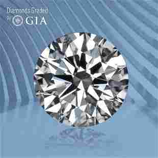 1.00 ct, Color D/VS1, Round cut GIA Graded Diamond