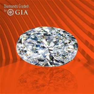 0.80 ct, Color E/VVS1, Oval cut GIA Graded Diamond