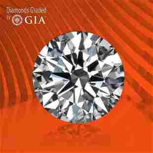 0.90 ct, Color F/VVS2, Round cut GIA Graded Diamond