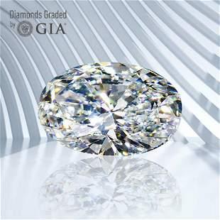 1.31 ct, Color D/VS1, Oval cut GIA Graded Diamond