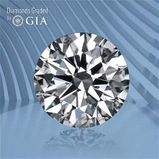 0.57 ct, Color D/VVS2, Round cut GIA Graded Diamond